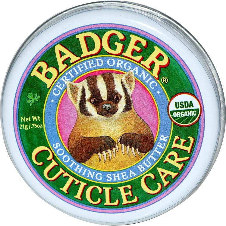 Органическое масло ши для ухода за кутикулой, Badger Company