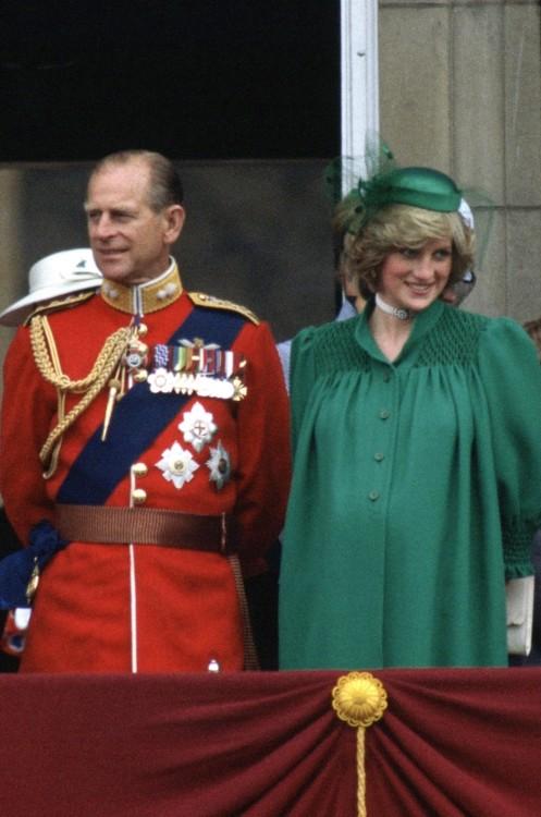 Герцог Эдинбургский и принцесса Диана (Великобритания)