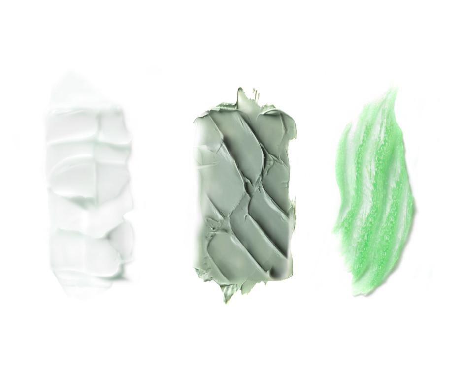 Текстуры масок из серии Énergie De Vie, Lancôme