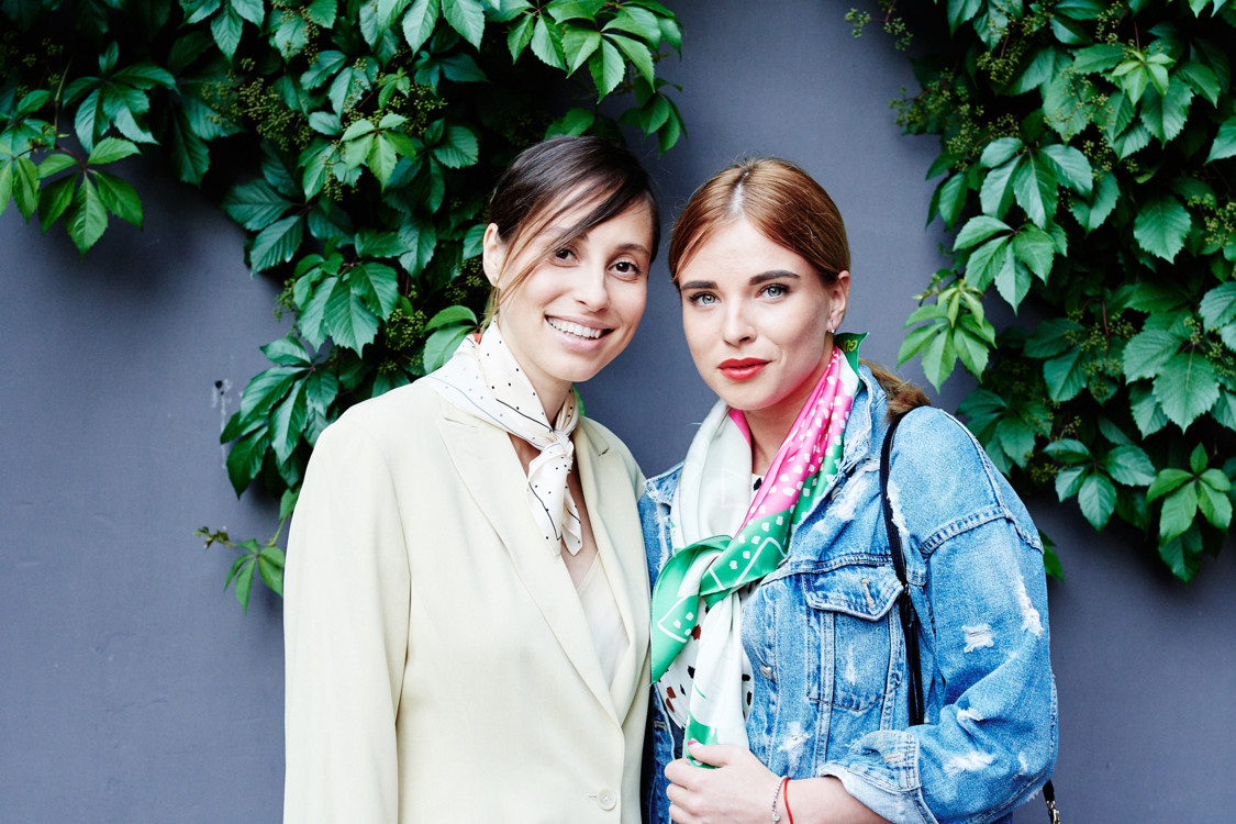 Наталья Каменская (слева)