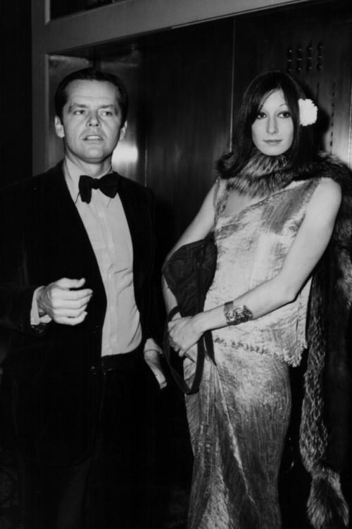 Джек Николсон и Анжелика Хьюстон, 1974