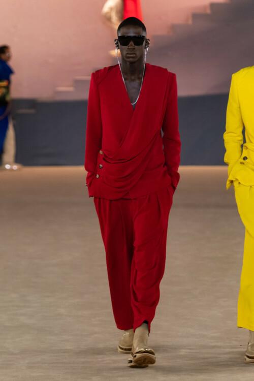 Balmain Menswear осень-зима 2020/2021