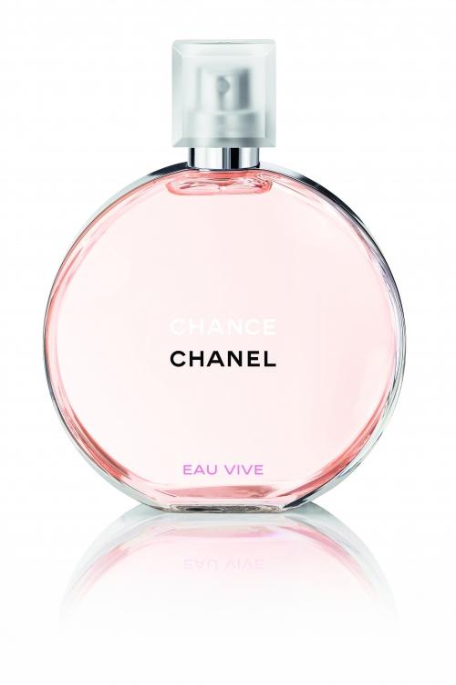 Chance Eau Vive, Chanel, с нотами красного апельсина, грейпфрута, цитрусовых, жасмина, ветивера и белого мускуса