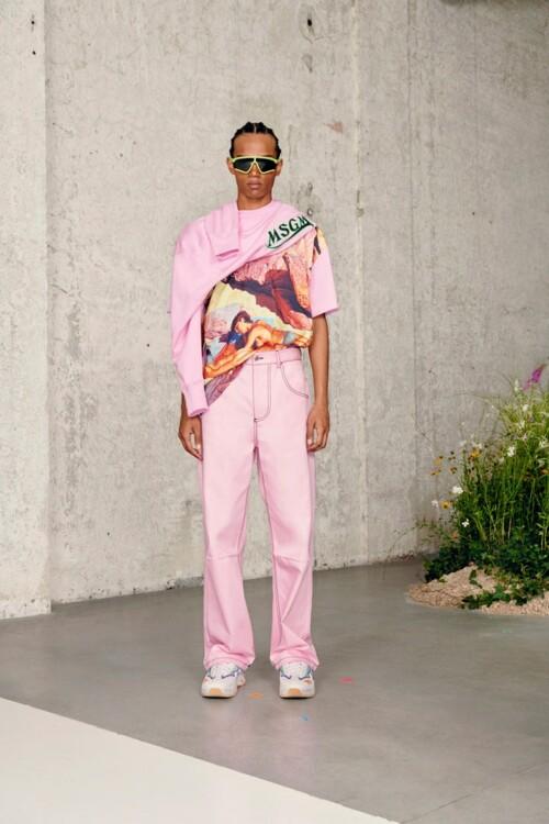 MSGM Menswear весна-лето 2021
