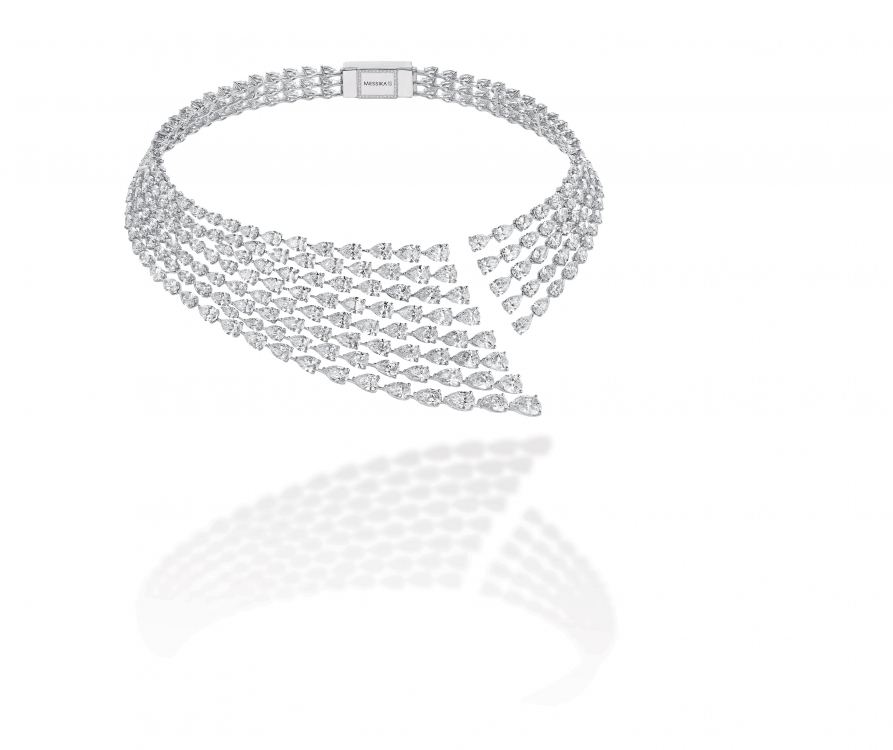 Колье Calypso, бриллианты, коллекция Diamants Celestes Collection, Messika Joaillerie