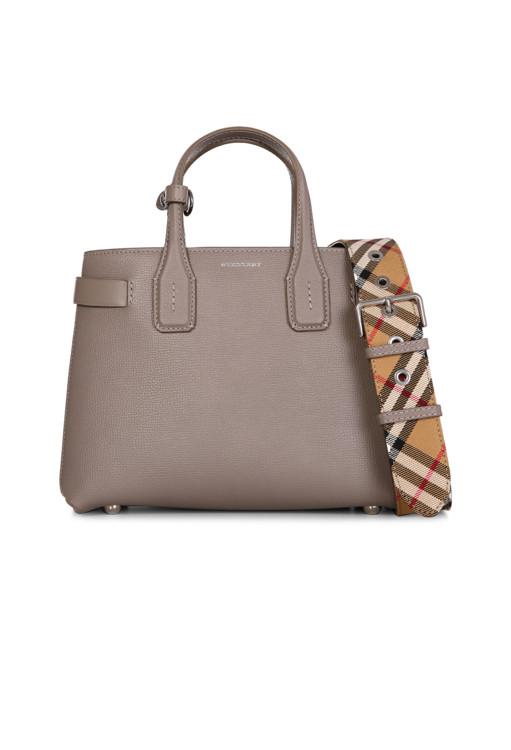 Кожаная сумка, Burberry