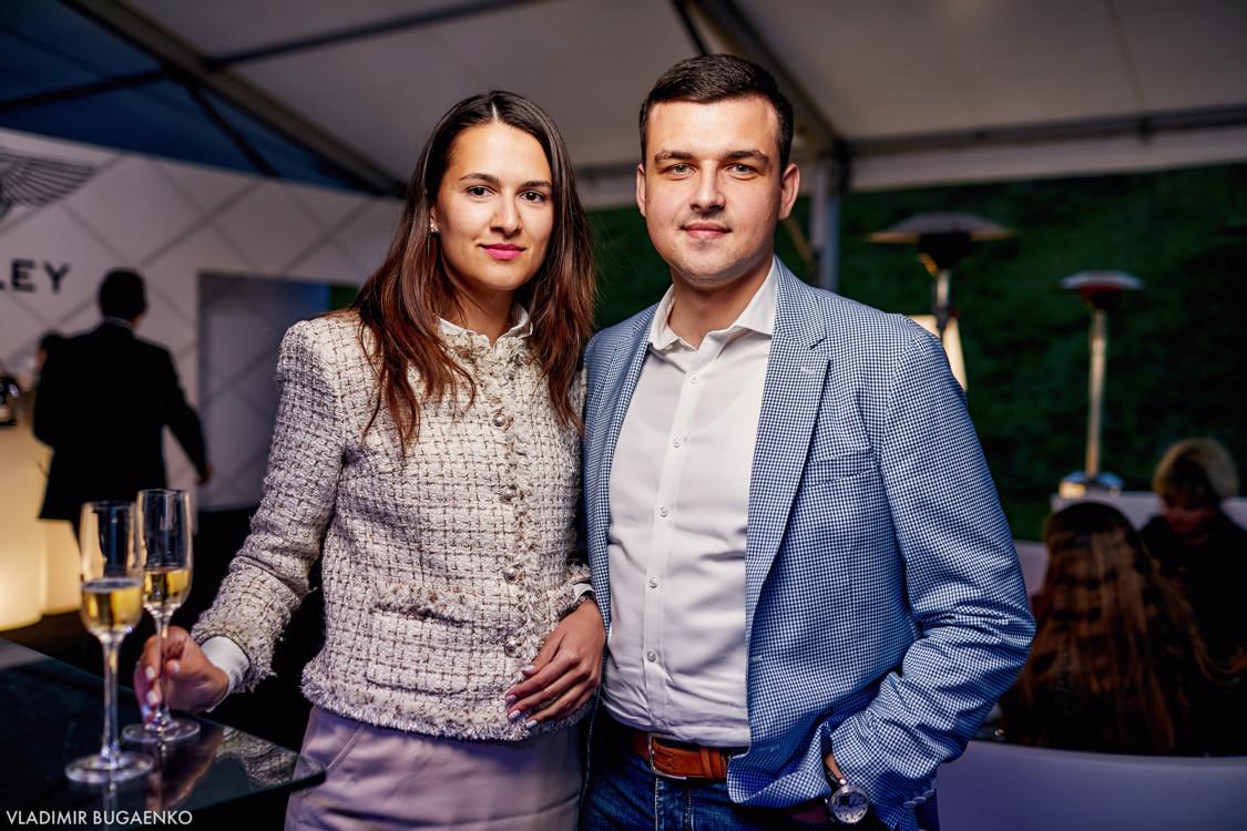 Алина Войтиченко с супругом