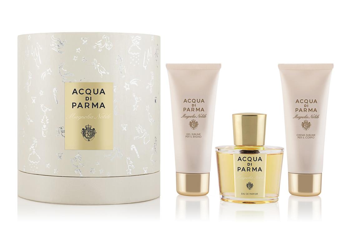 Набір Magnolia Nobile з парфуму, лосьйону тіла і гелю для душу, Acqua di Parma