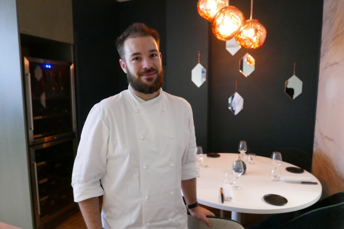 Юбер Дюшен, шеф-повар Restaurant H
