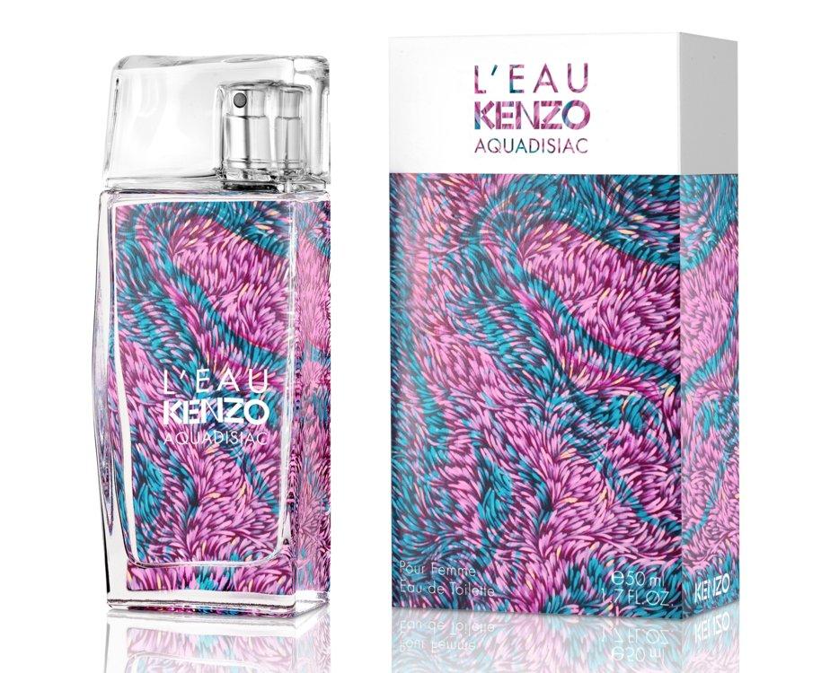 L'Eau Kenzo Aquadisiac pour Femme, Kenzo, с нотами магнолий, мандаринов и груш
