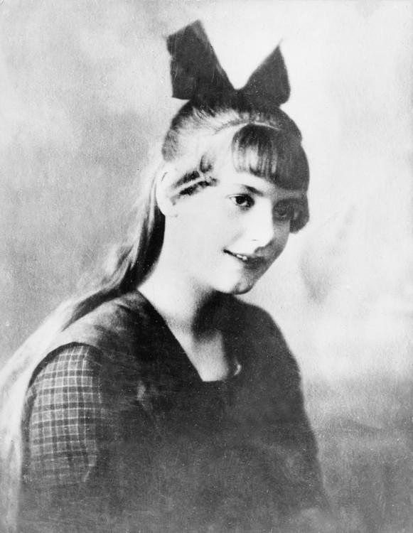 Грета Гарбо в 1917