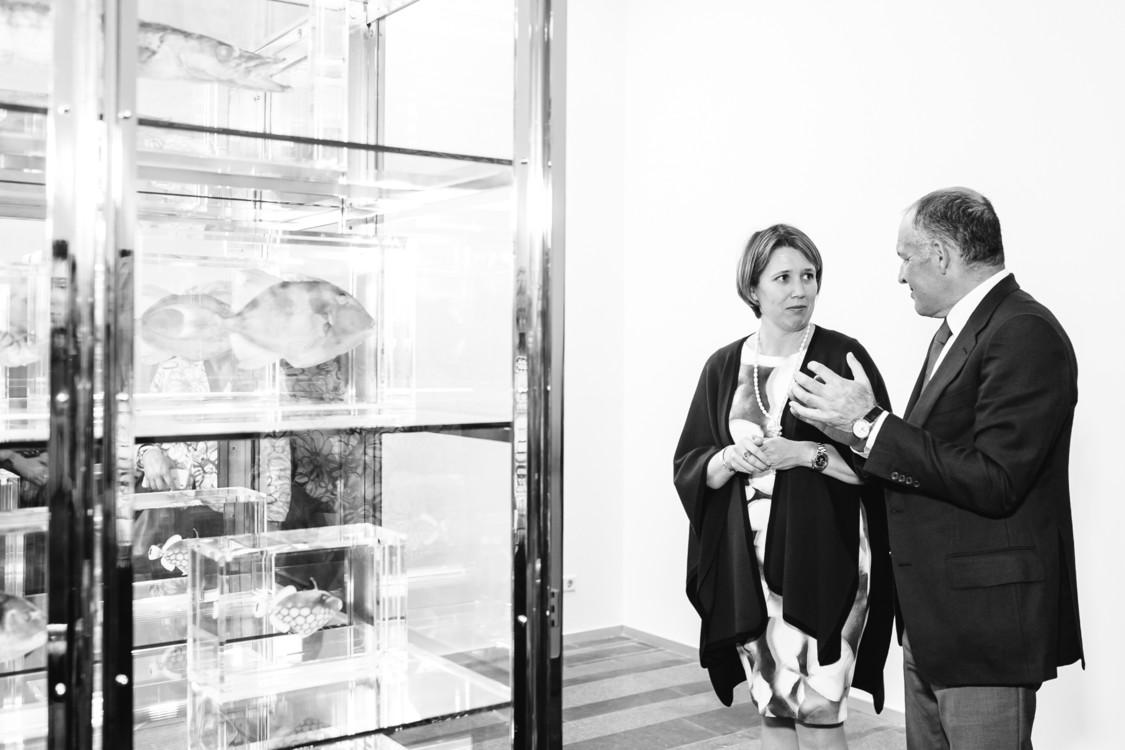 Виктор Пинчук и посол Великобритании в Украине Джудит Гоф