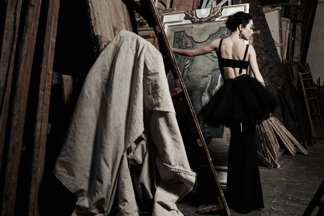 На Екатерине: брюки Givenchy, топ