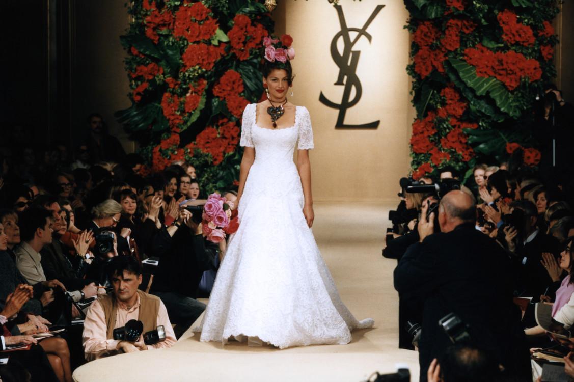 Yves Saint Laurent Haute Couture весна-лето 1998