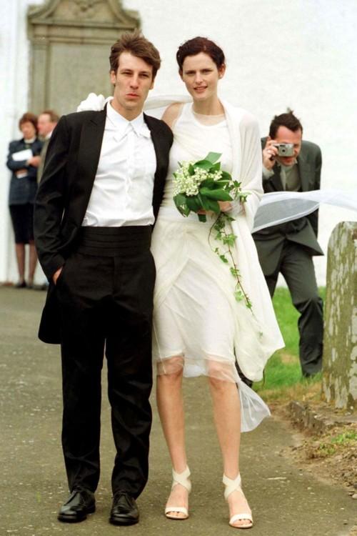 Стелла Теннант в Helmut Lang, июнь 1999