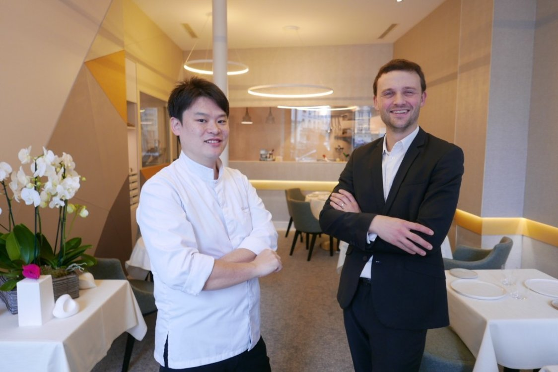 Шеф-повара ресторана Alliance: Тошитака Омия и Шон Жуаю
