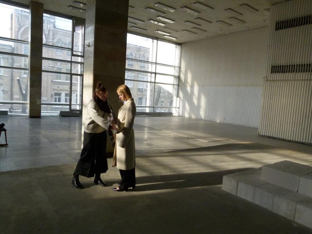 Бекстейдж съемки Даны Павлычко для Vogue UA