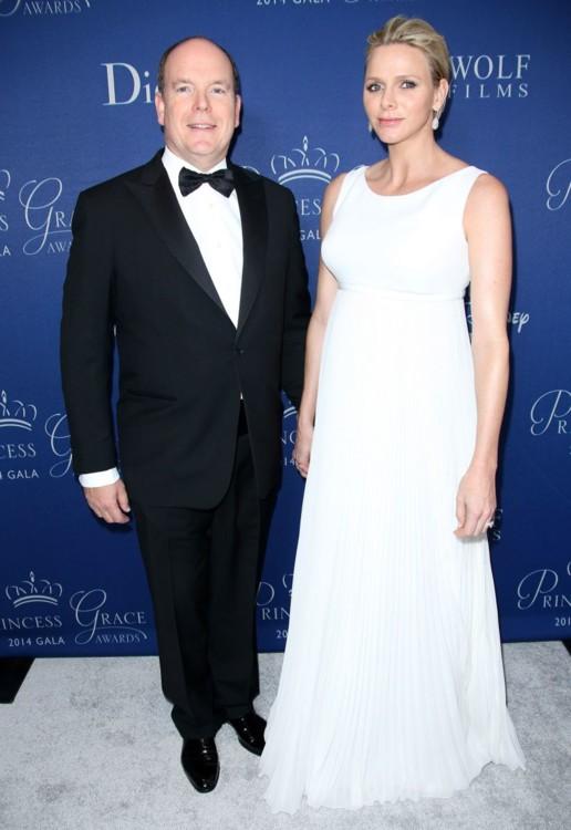 Князь Альбер и княгиня Шарлен (Монако)