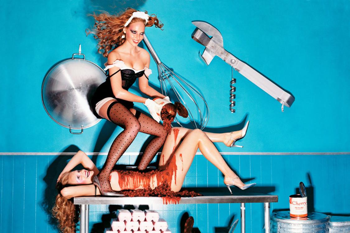 Дэвид Лашапель, октябрь 2004, Vogue Italia