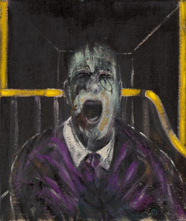 «Эскиз головы», 1952 (Частная коллекция)