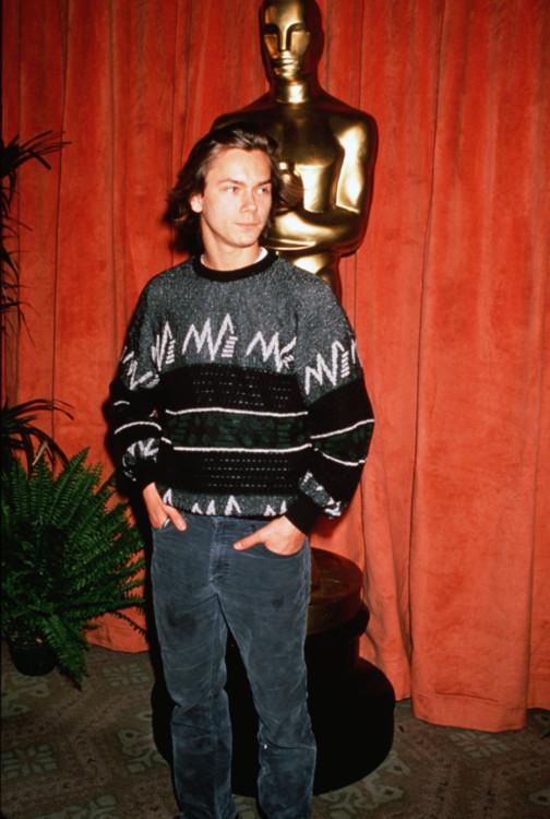 Рівер Фенікс на ланчі «Оскара», 1991