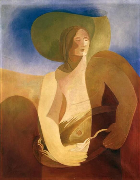 «Женщина с рыбой», 1934 (Московский музей современного искусства)