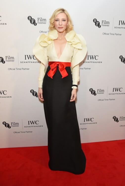 Кейт Бланшетт в платье Gucci