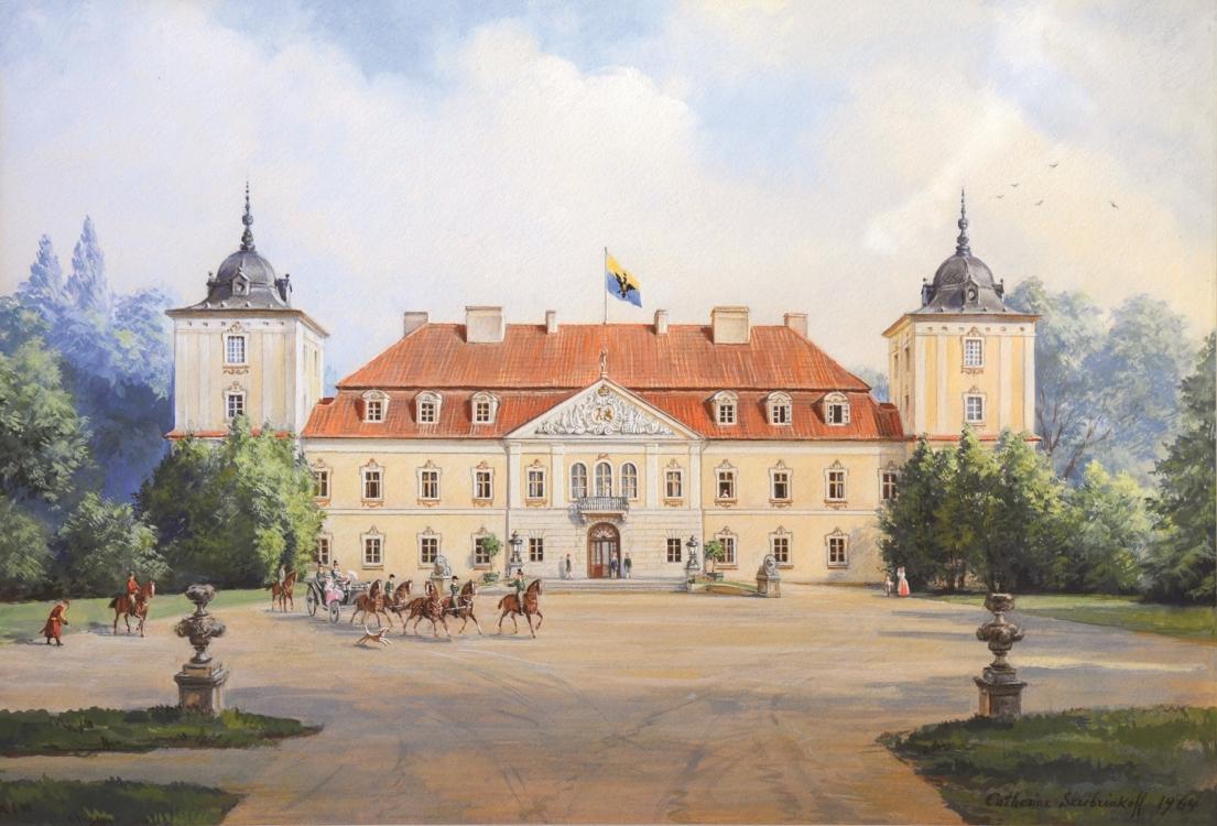 Дворец Потоцких на Волыни, Западная Украина