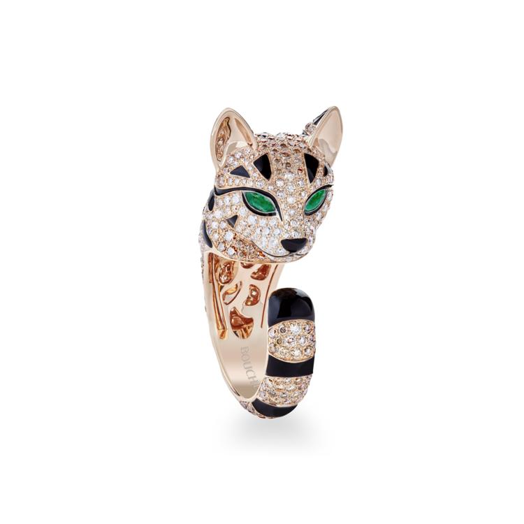 Fuzzy ring, розовое золото и бриллианты