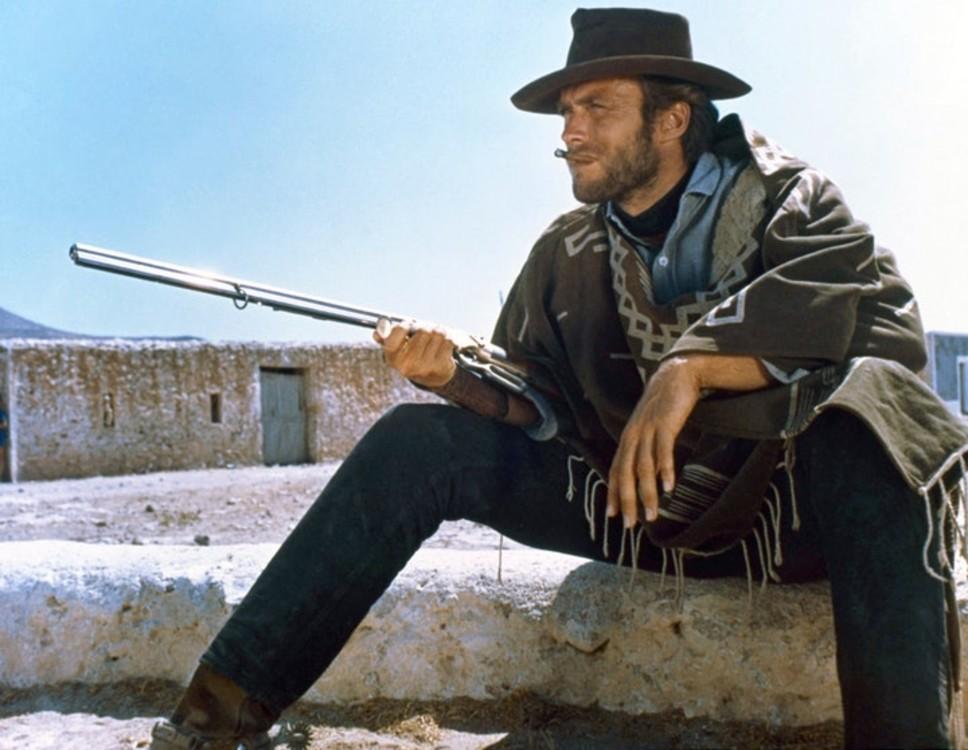 Клинт Иствуд в фильме «На несколько долларов больше»