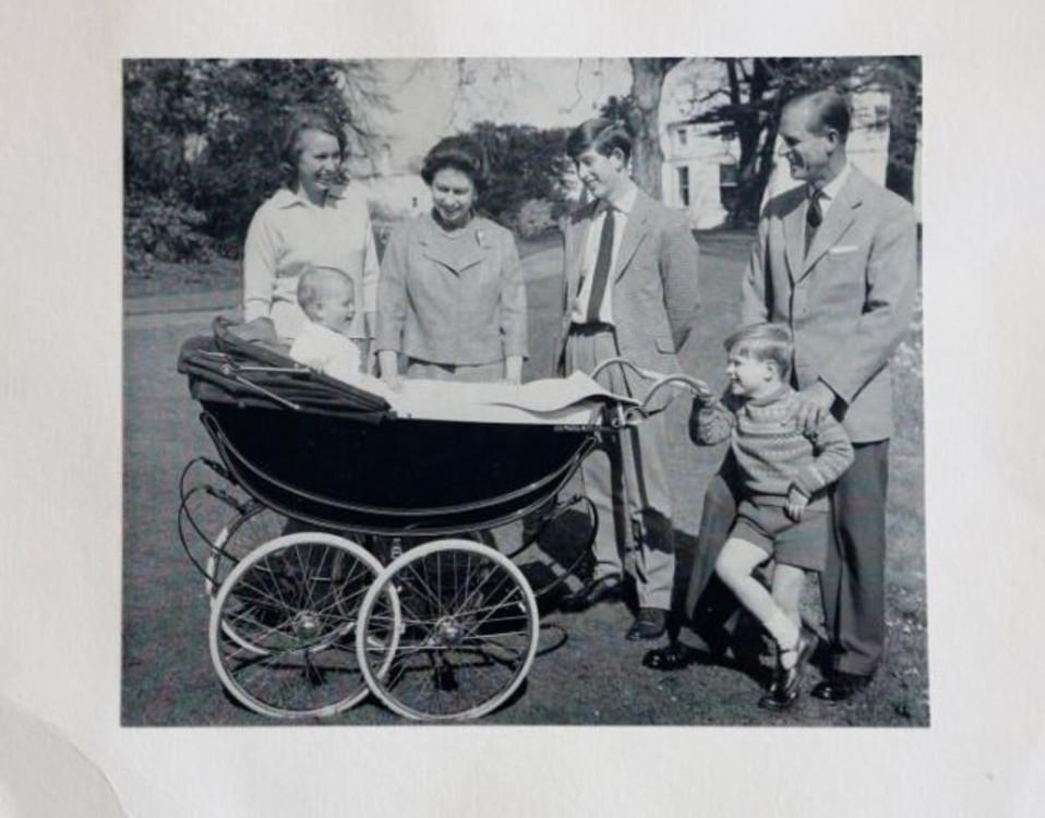Британская королевская семья, 1965
