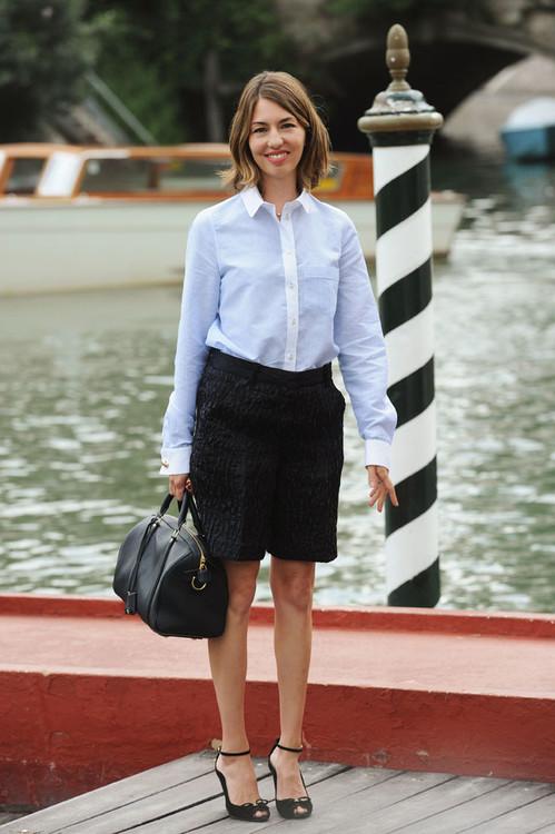 София Коппола с сумкой SC, Louis Vuitton