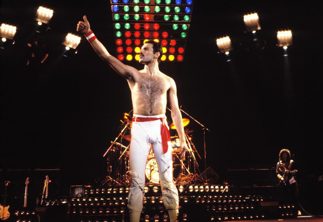 На концерте в Окленде, 1982