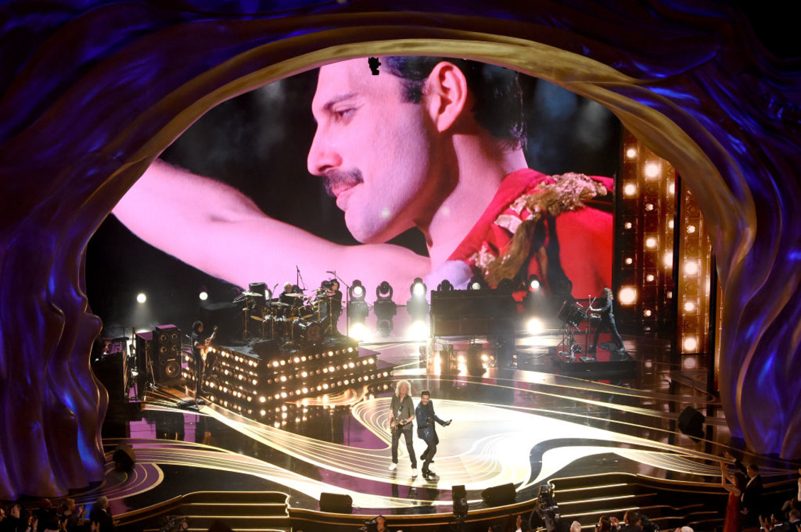Выступление Queen