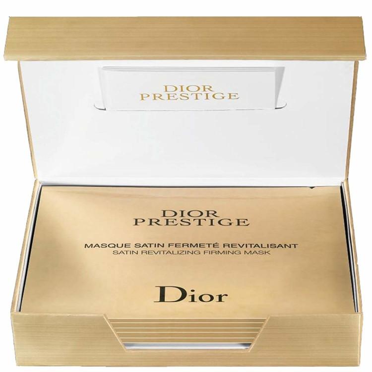 Тканинна зміцнювальна маска Prestige Firming Sheet Mask, Dior, з дренажним і ліфтинг-ефектом. Містить екстракт троянди і центелли азіатської