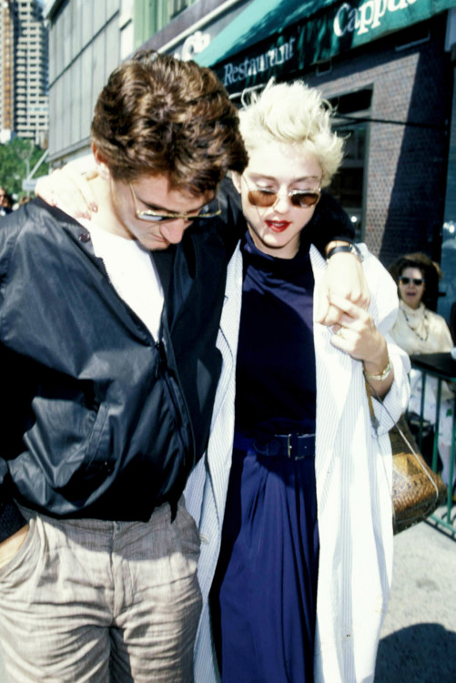 Шон Пенн і Мадонна