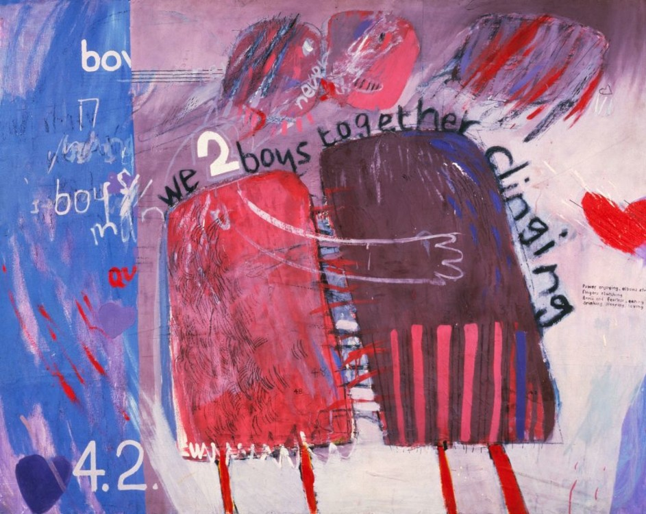 «We Two Boys Together Clinging», 1961