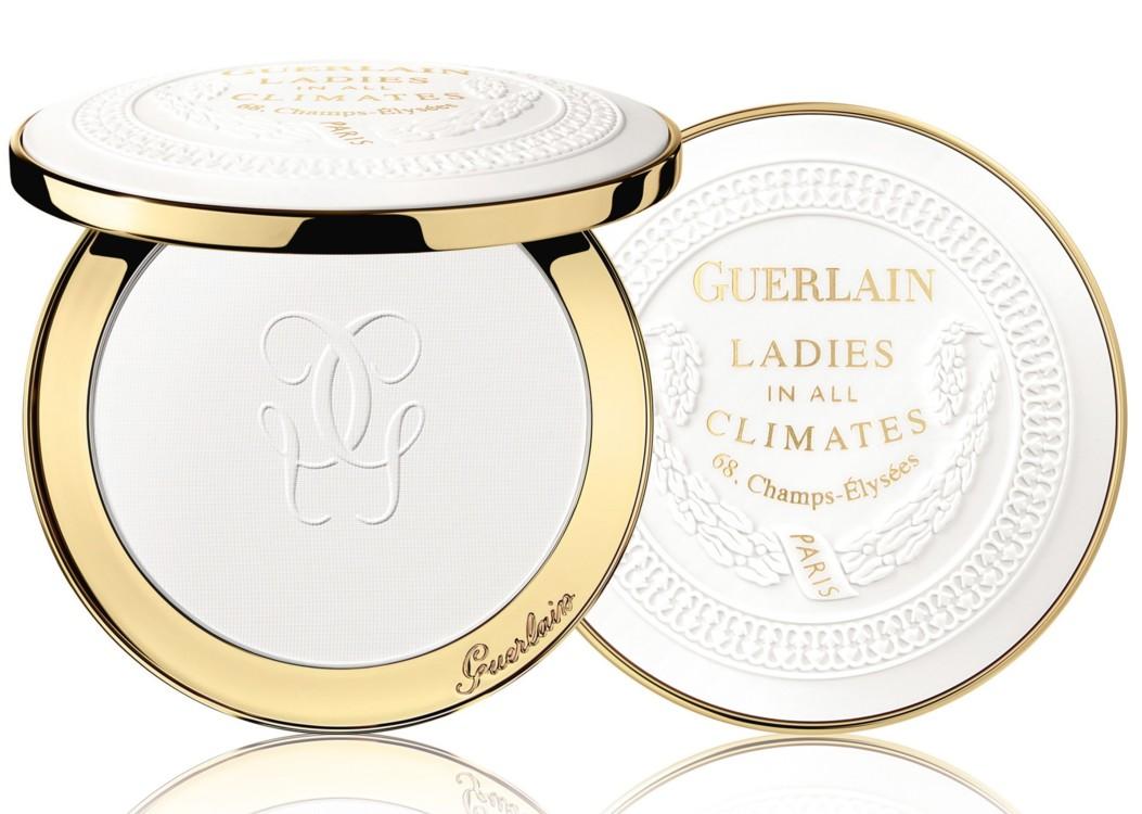 Пудра для сияния и матирования кожи Ladies In All Climates, рождественская коллекция макияжа Guerlain 2018 Cosmic Beauty