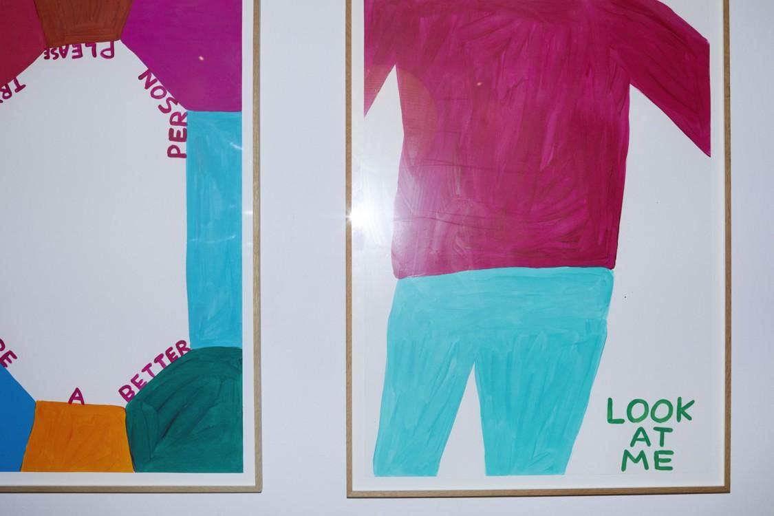 Картины Дэвида Шригли из галереи Nicolai Wallner
