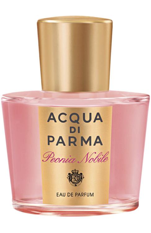 Peonia Nobile, Acqua di Parma, - блюдце малины в соседстве с букетом пионов, герани и фрезий