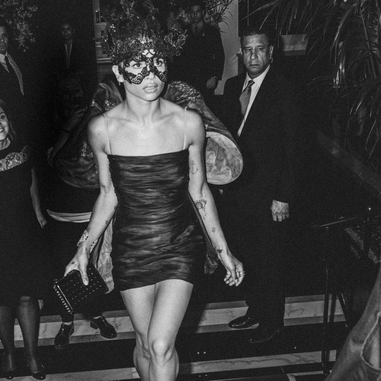 Зои Кравиц на Балу института костюма 2016