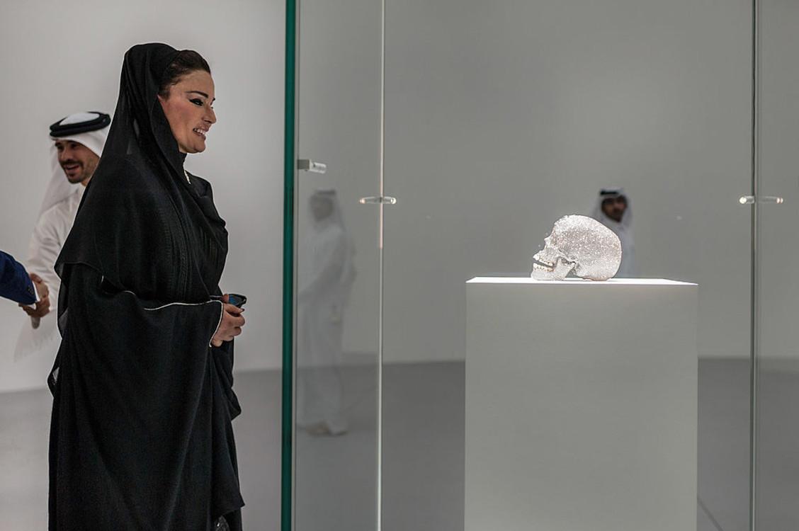 """""""Бриллиантовый череп"""", 2013 год. Фото: Getty images"""