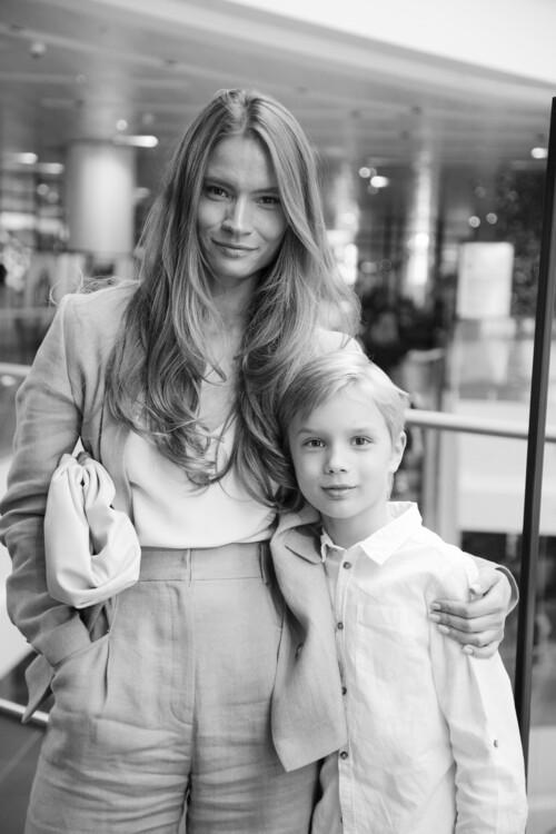 Тетяна Богдан з сином