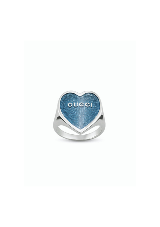 Кольцо Love, love & love, серебро, Gucci