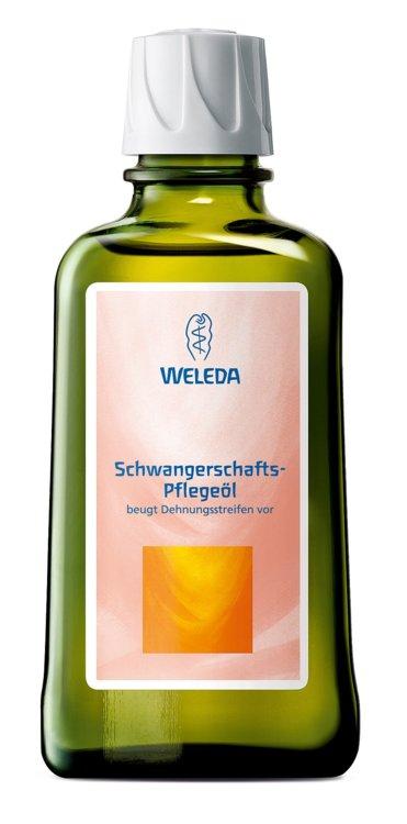 Масло для профилактики растяжек Schwangerschafts, Weleda