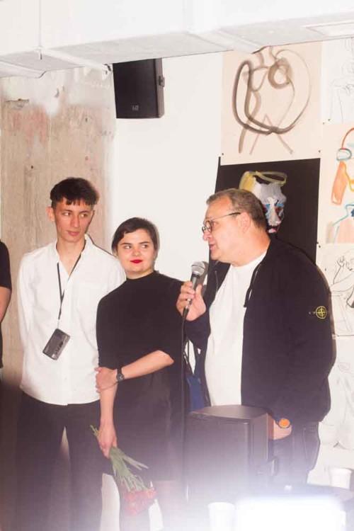 Василій Гроголь, Маша Рева, Михайло Рева
