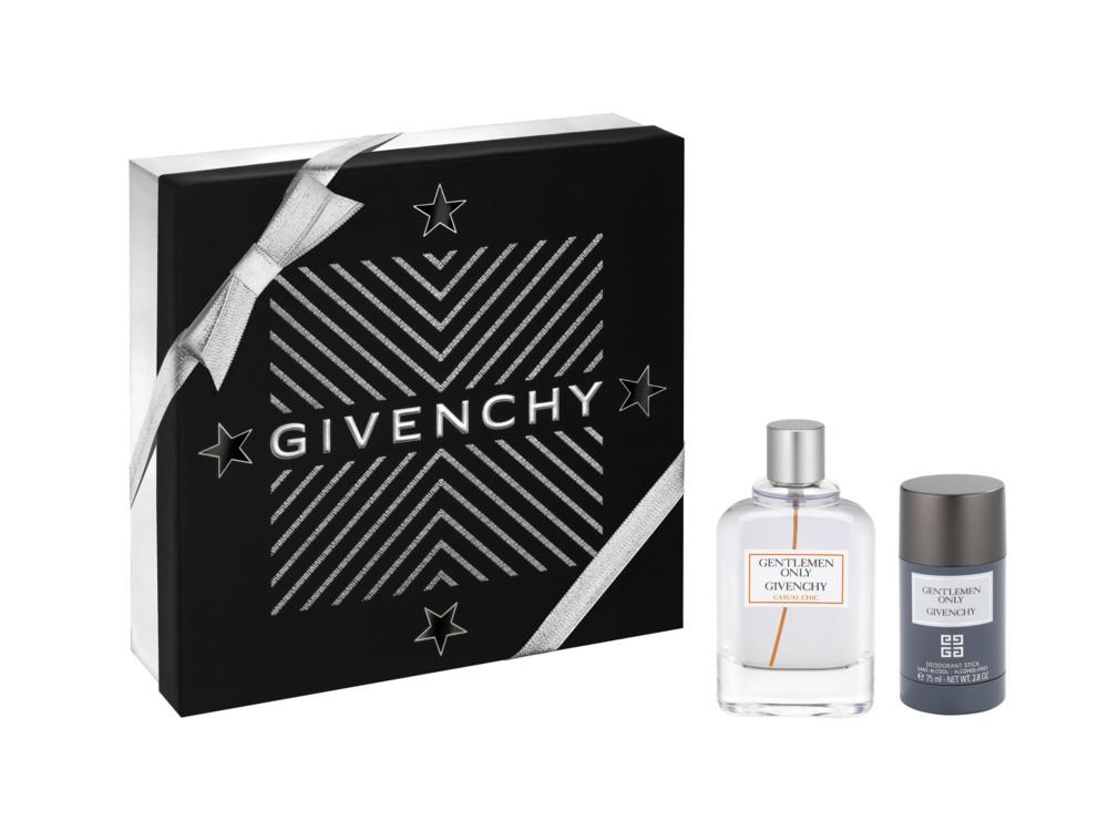 Мужской набор Gentlemen Only Casual Chic: туалетная вода и дезодорант-стик,  все – Givenchy