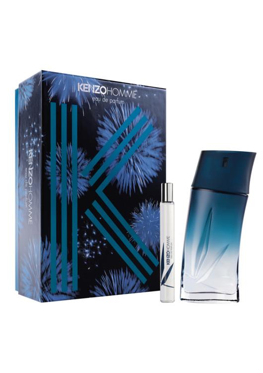 Мужской подарочный набор Kenzo Homme, парфюмированная вода 100 мл и дорожная версия, 15 мл, все - Kenzo