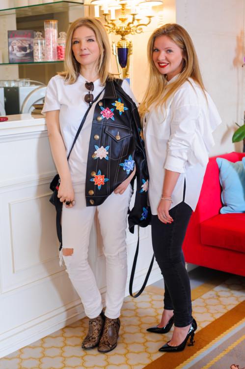 Ольга Навроцкая и Наталья Стрильчук