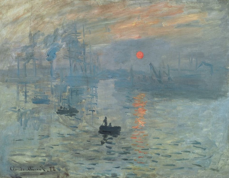 «Впечатление. Восход солнца», 1872